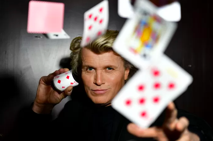 Hans Klok works on TV show with new generation of magicians